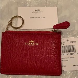 Coach ID skinny csgr lthr New with tags